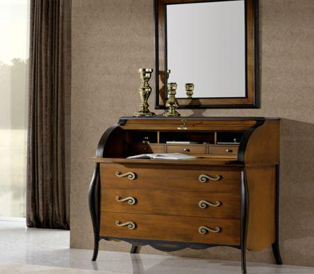 Mueble buro clasico